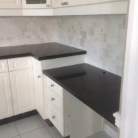 Black and White Countertop
