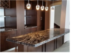 Brown Marble Countertop