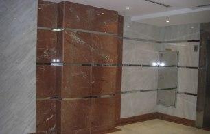 Azul's-white-brown-shiny-bathroom