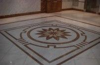 Azul's marble tile floor