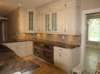 Azul's white furnished kitchen