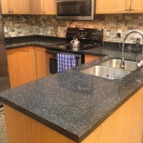 Azul's-black-granite-countertop