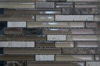 Azul's grey back splash tiles