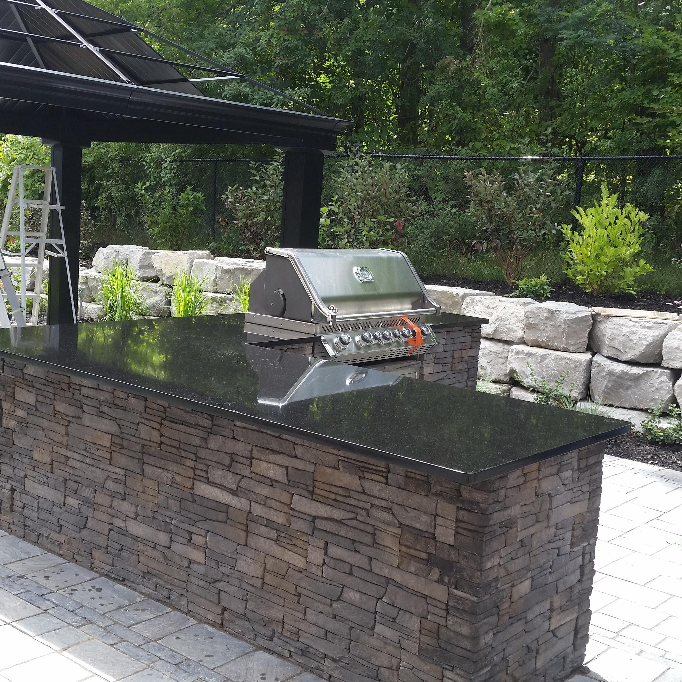 Bon Outside Countertops Azul Designs Authentic